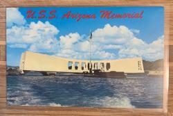 U.S.S. Arizona Memorial postcard
