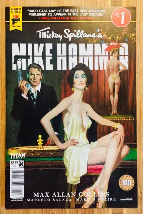 Mickey Spillane's Mike Hammer book cover