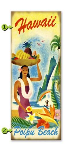 Wahine Fruit Hat