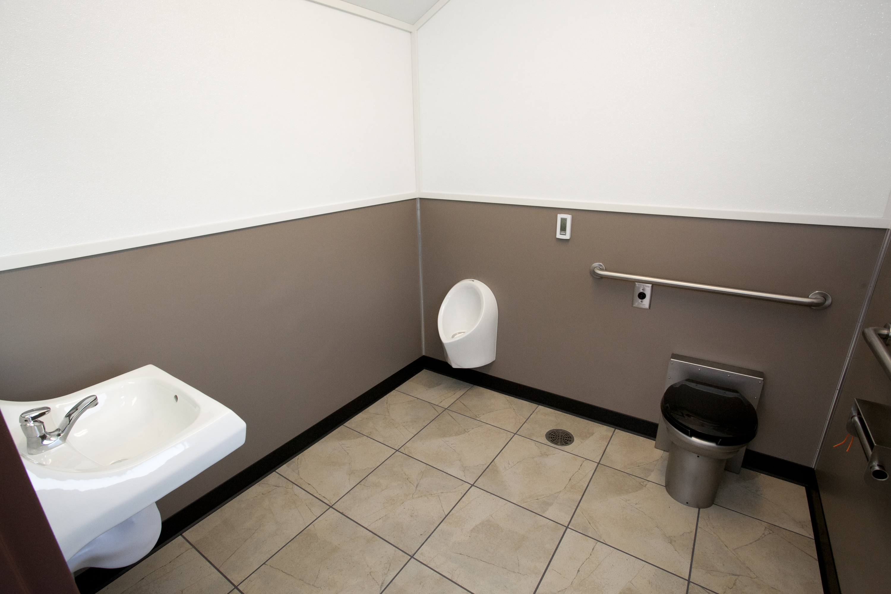 Interior Customization Is A Breeze With Green Flush Restrooms