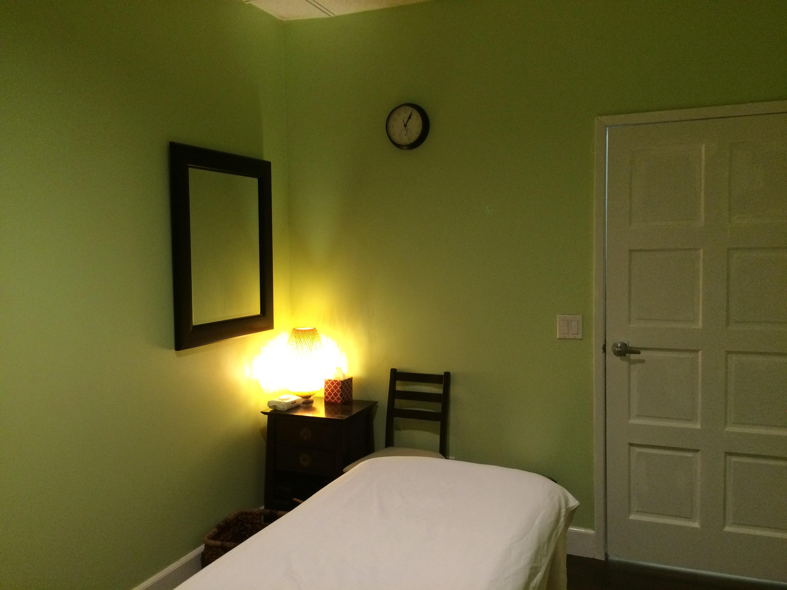 massage room 1c  Green Forest Wellness Center