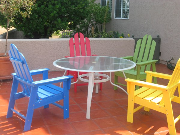 plastic patio furniture Green Frog's Recycled Plastic Outdoor Furniture Blog | Go
