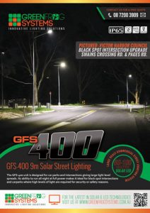 GFS-400 Solar street light