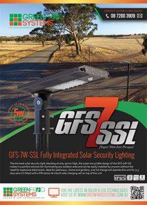 GFS-7 solar security light brochure