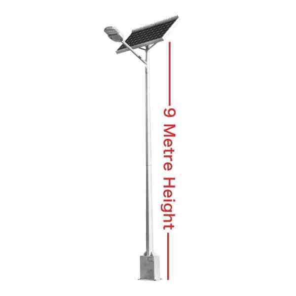 9 metre solar street light