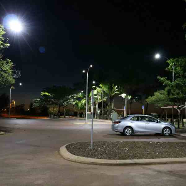 street lights of car park 50w sentinel
