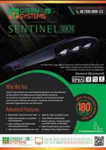 sentinel 180 street light