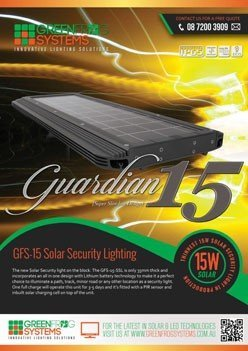 GFS- Guardian solar security light