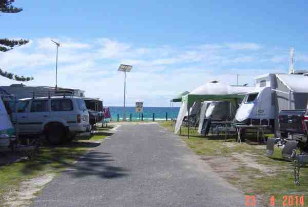 solar street lighting coastal install tweed heads holiday parks
