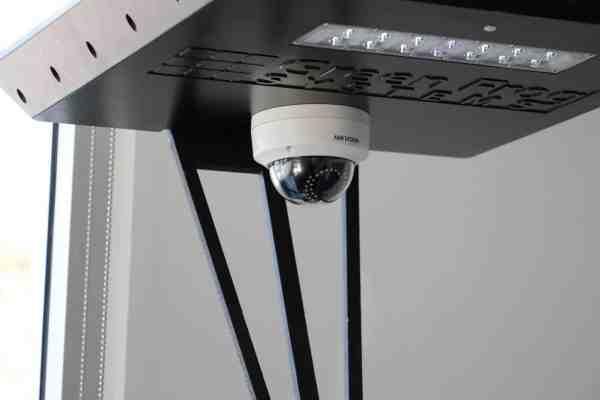 solar security camera on Stealth solar path lightlight