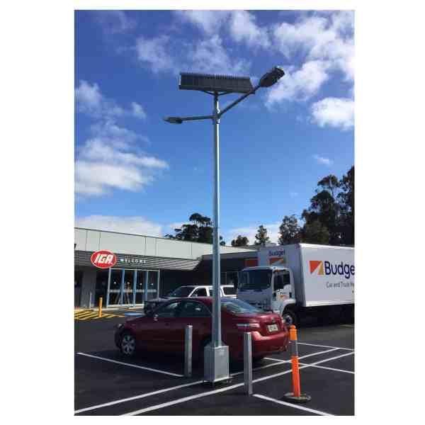 twin head gfs 200 solar street light