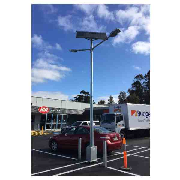 twin head gfs 200 solar street light