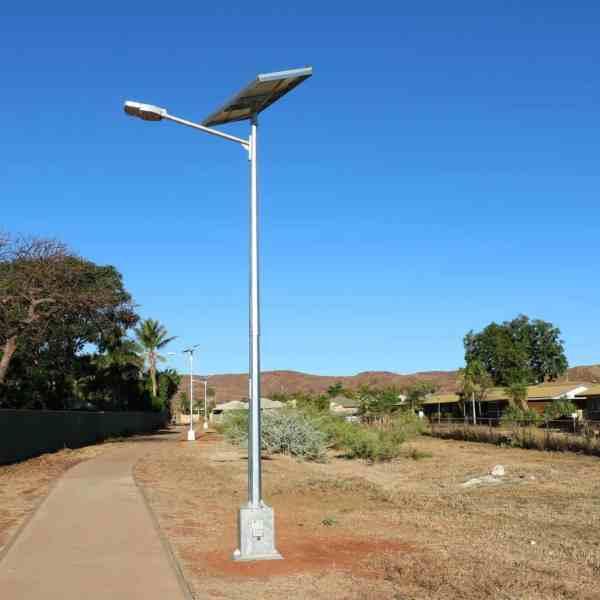 cyclone rated solar street light