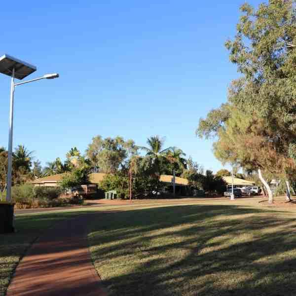 cyclone rated (region D) solar street light