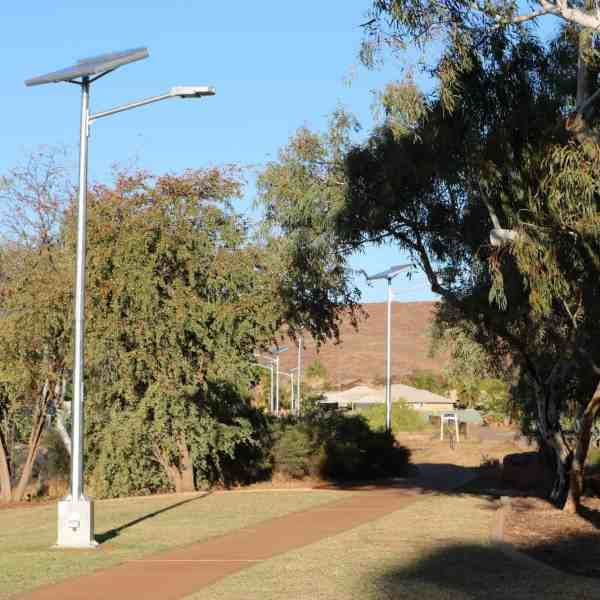cyclone rated solar street lights