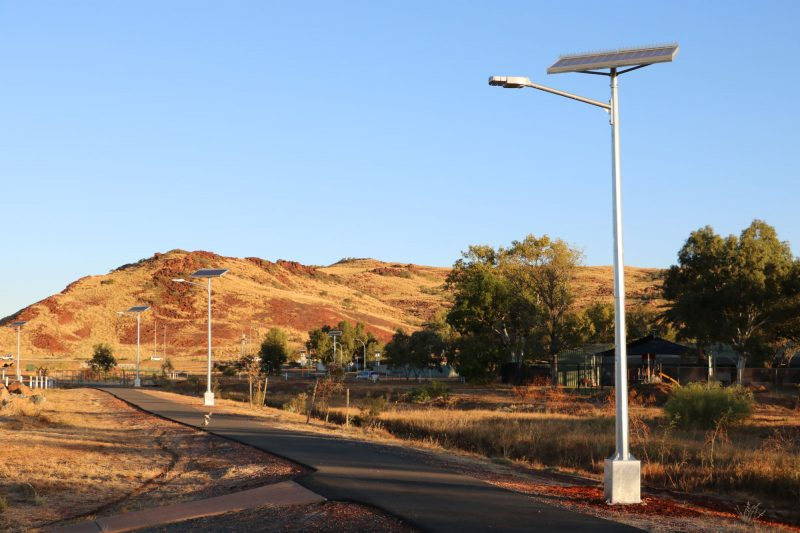 solar street lights - Karratha WA