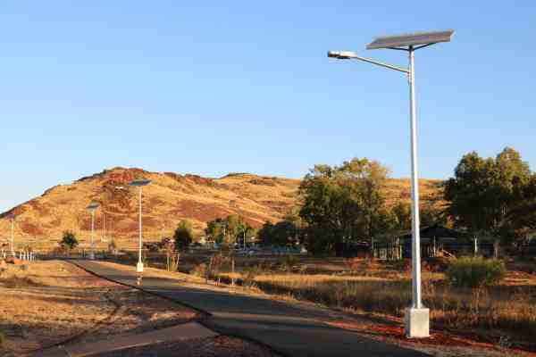 solar street lights - Karratha WA