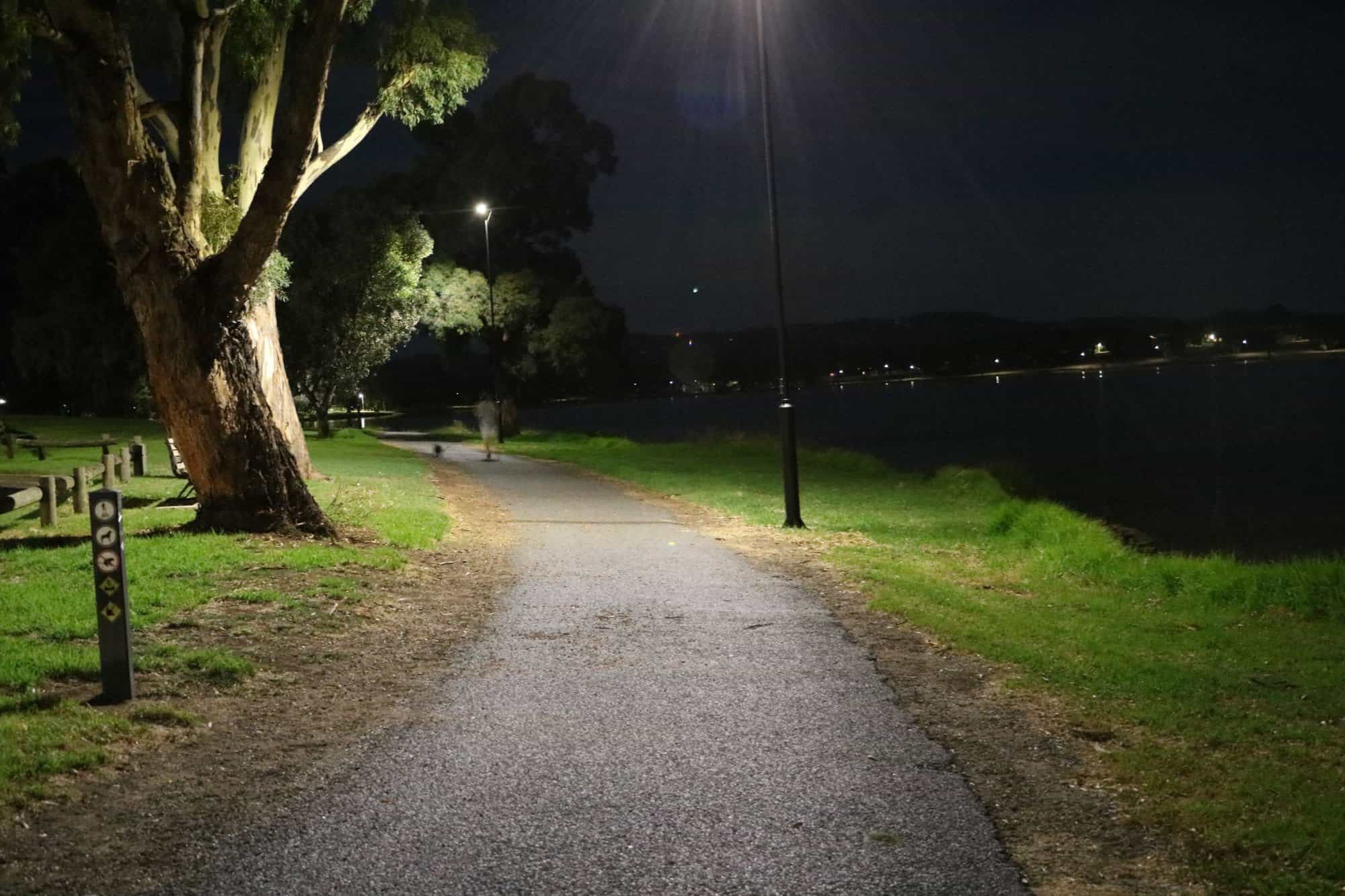 GFS-stealth solar pathway lights