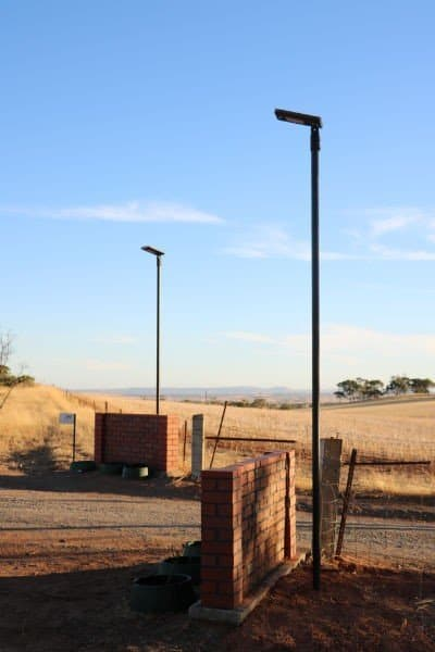 GFS-7 solar security light