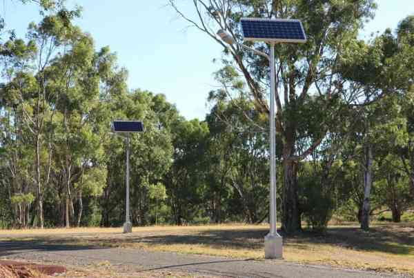 GFS-200 Solar street light, Hewett South Australia