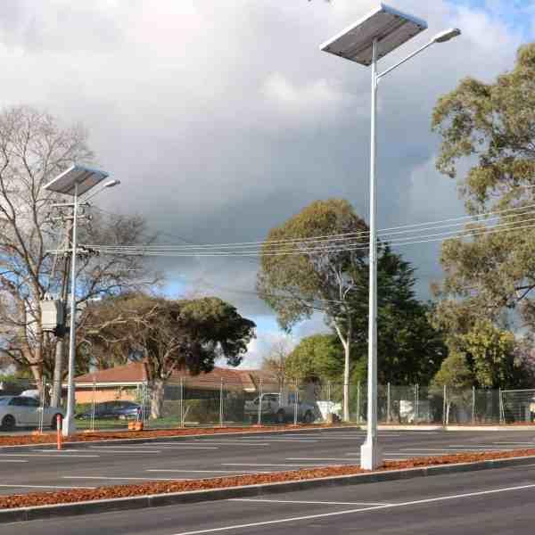 solar powered car park lighting GFS-400 solar street light