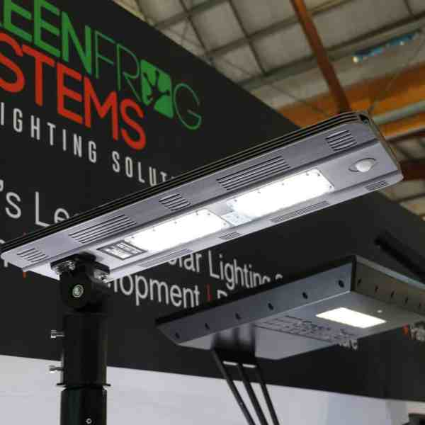 solar security and path light