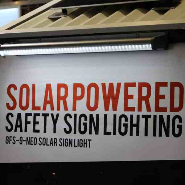 solar sign light