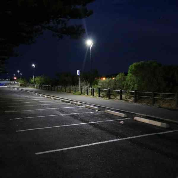 Stealth solar powered pathway lighting Victor Harbor