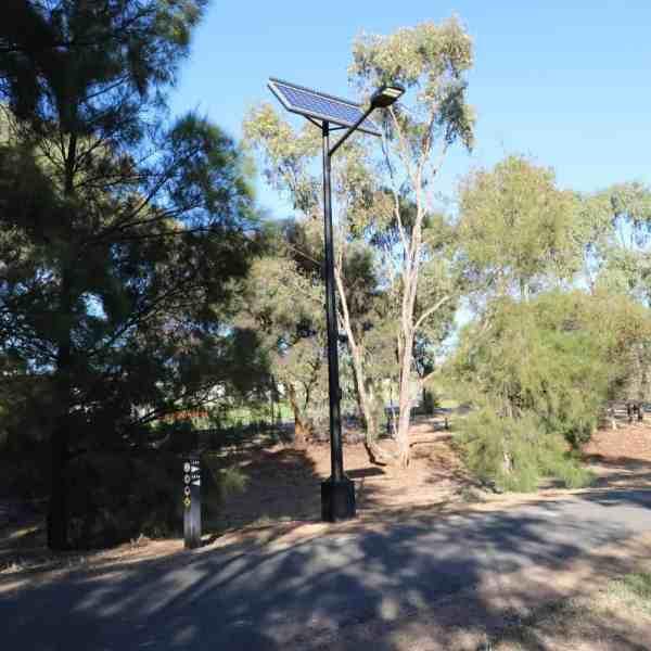 Solar street lighting Wagga Wagga NSW