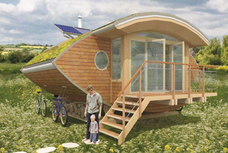 Build your own eco-friendly house .