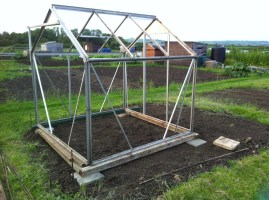 Construction of greenhouse