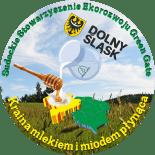 Dolny Śląsk Kraina mlekiem i miodem płynąca - logo