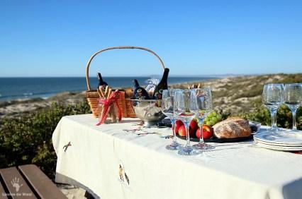 Sophisticated picnics at Rocherpan