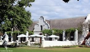 Historic homestead Vergenoegd Wine Estate