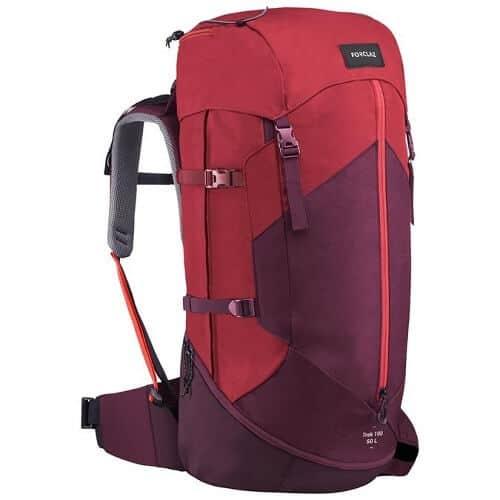 Forclaz Womens Trek 100 Easyfit 50 L Hiking Backpack