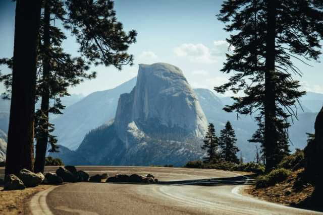 Remarkable view within Yosemite National Park, home to natural phenomena valued by UNESCO World Heritage in the USA