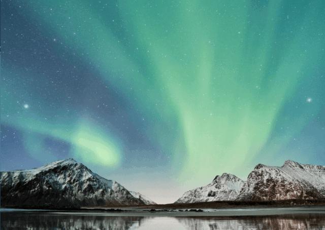Northern Lights - Lofoten Islands- Valkyrie