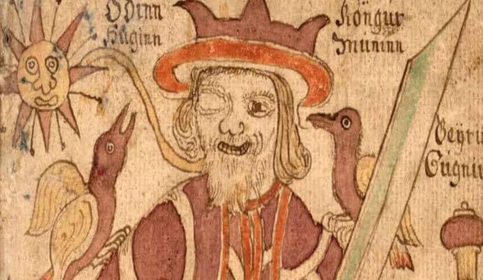 Odin of Norse Mythology