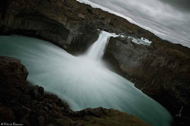 Aldeyjarfoss Waterfall