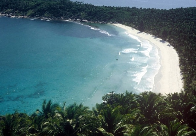 Thailand's Haad Rin Beach in 1979, from Gringo Trails