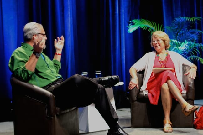 Bret Love interviews Dr Martha Honey at TBEX Cancun