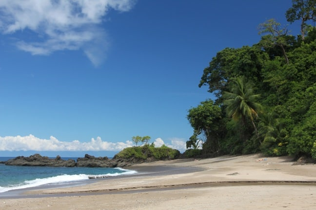 The Tranquil Beach at Caño Island, Costa Rica