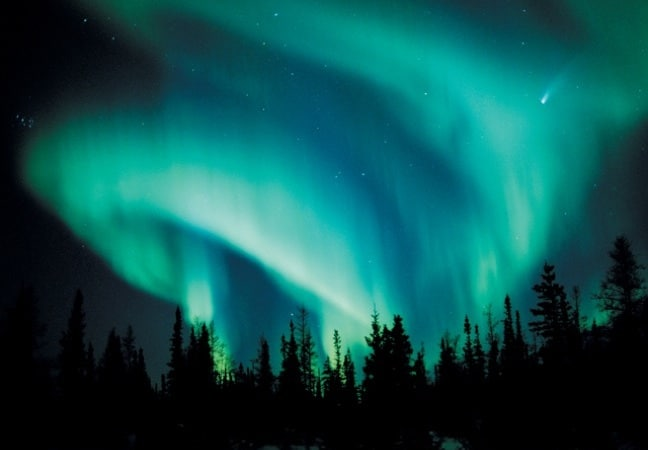 Northern Lights in the Canadian Arctic