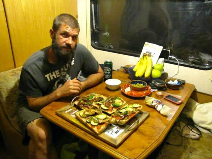 Pizza Night in Spain