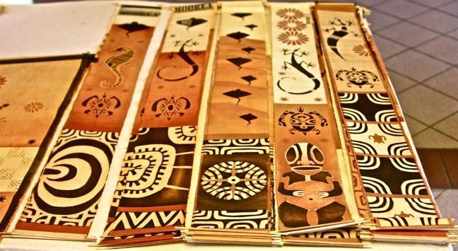 Traditional Tahitian artwork