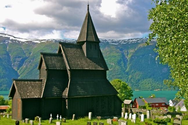 Urnes Stave Church, Norway