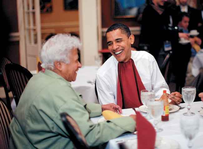 Treme New Orleans: Leah Chase and Barack Obama