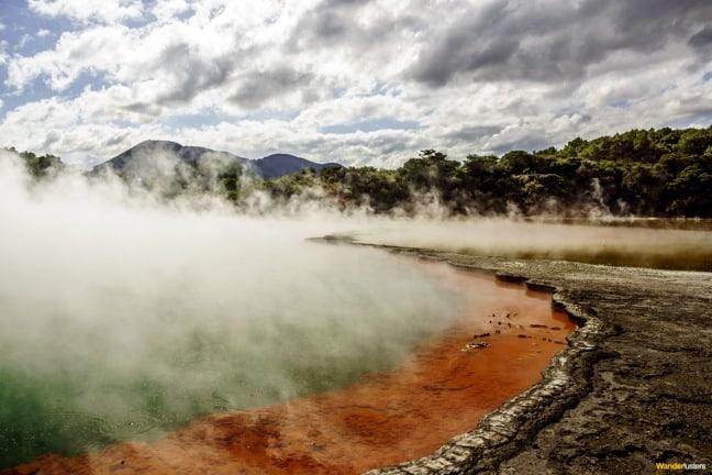 Champagne Pool at Wai-O-Tapu, New Zealand