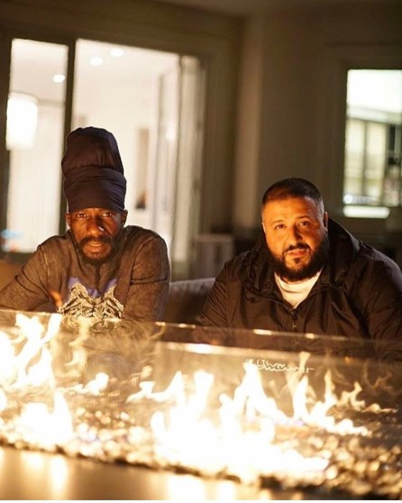 Sizzla and Khaled in Jamaica