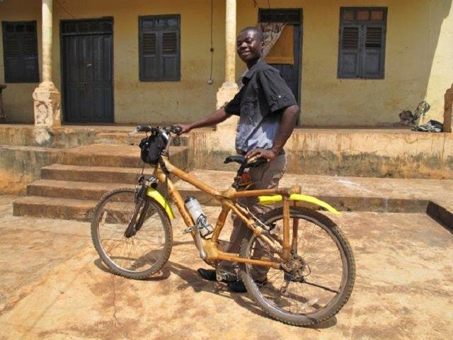 Bamboo cycles in Ghana are a huge hit for climate lovers